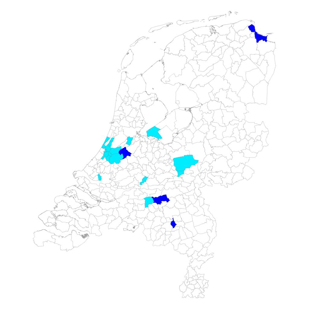 Locaties Fietsmaatjes
