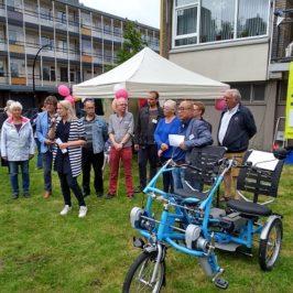 Start Fietsmaatjes Schiedam op 13 juli 2019